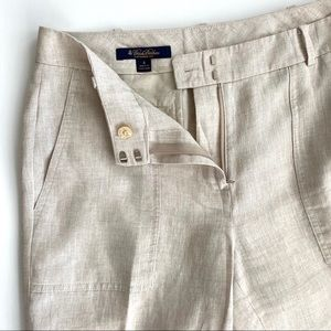 Brooks Brothers 💯 linen pants, Catherine fit